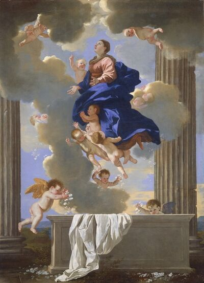 Nicolas Poussin, 'The Assumption of the Virgin', ca. 1630/1632