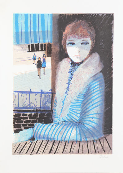 Charles Levier, 'Girl in Blue', ca. 1979