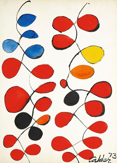Alexander Calder, 'Touch of Blue', 1973
