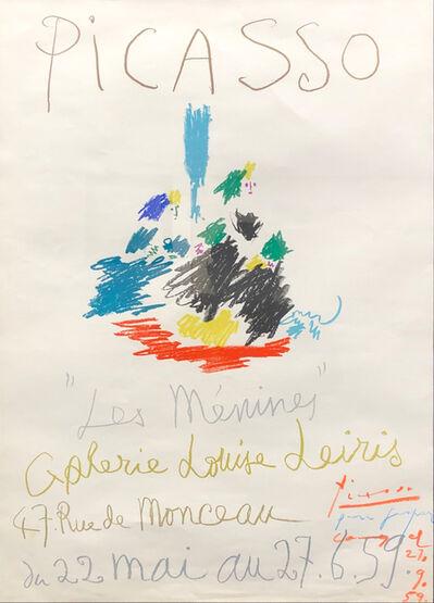 Pablo Picasso, 'Picasso - Les Ménines', Mai 20th , Mai 29th, 1959