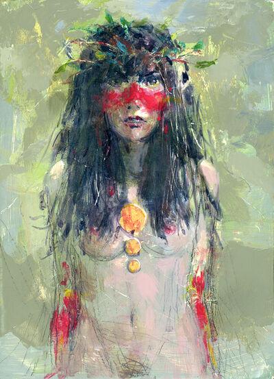 Felipe Echevarria, 'Spearwomen 1', 2015