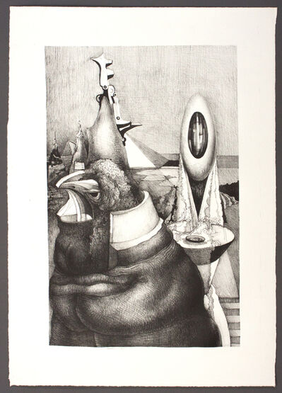 Theodore Roszak, 'Rooster and Egg', 1974