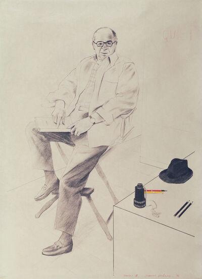 David Hockney, 'Billy Wilder', 1976