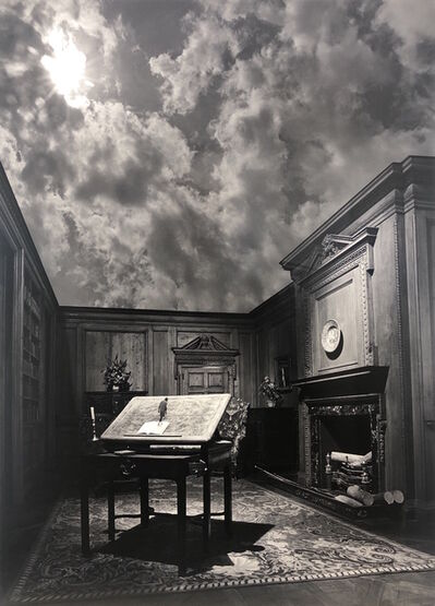 Jerry Uelsmann, ' Untitled The Philosopher', 1976
