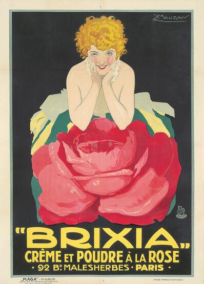Luciano Achille Mauzan, 'Brixia / Crème et Poudre à la Rose.', ca. 1924