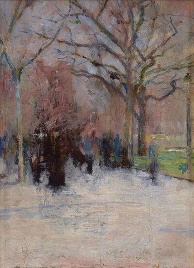 Theodore Robinson, 'Union Square', 1893-1895