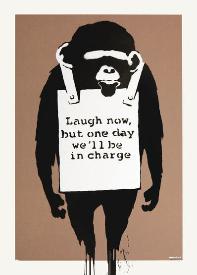 Banksy, 'Laugh Now', 2009