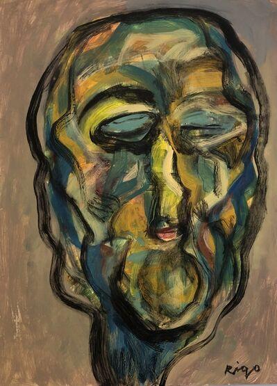 Rigo (José Rigoberto Rodriguez Camacho), 'Head 2 No. 2', ca. 2019