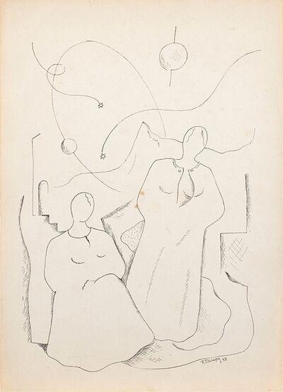 Renato Paresce, 'Stelle Filanti', 1933