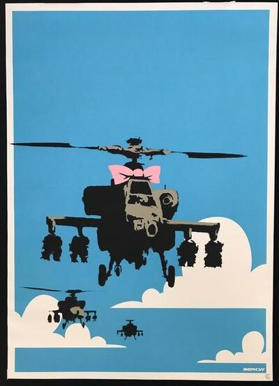 Banksy, 'Happy Chopper', 2003