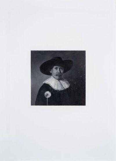 Martin La Rosa, 'Dialogo con Rembrandt VIII', 2016