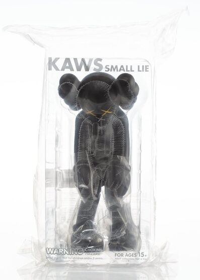KAWS, 'Small Lie (Black)', 2017