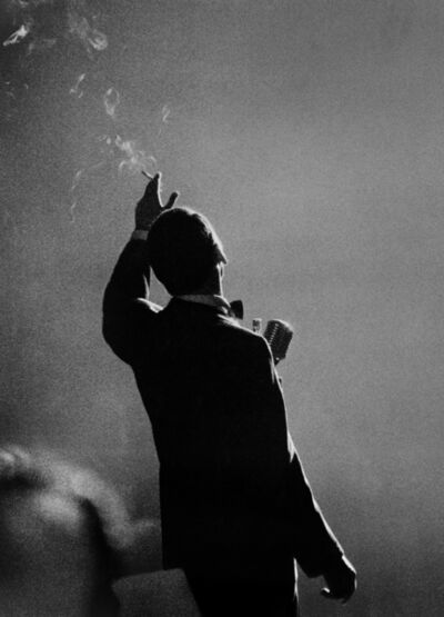 Herman Leonard, 'Frank Sinatra, NYC', 1958