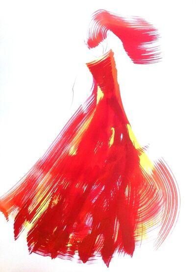 Bettina Mauel, 'The Red Cloth 49 (framed)', 2014
