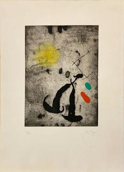 Joan Miró, 'Le Fugitif', 1962