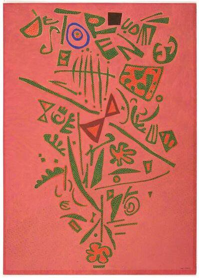 Otto Nebel, 'Bei grosser Wärme (with great warmth)', 1962