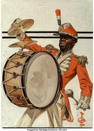 Joseph Christian Leyendecker, 'Drum Major, The Saturday Evening Post cover', 1921
