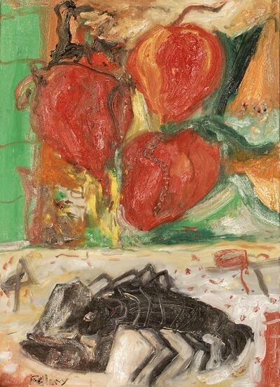 John Bellany R.A., 'Peppered lobster', ca. 1990