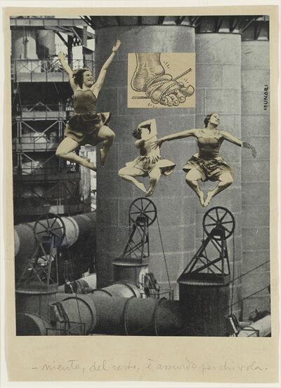 Bruno Munari, 'Niente, del resto', 1939