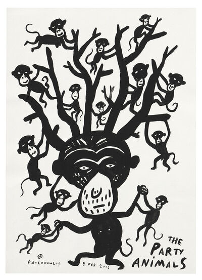 Tassos Pavlopoulos, 'The party Animals', 2012