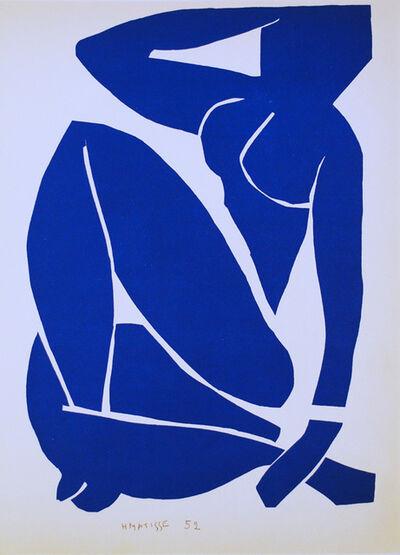Henri Matisse, 'Nu Bleu III', 1952
