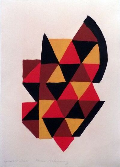 Sonia Delaunay, 'Sans titre ', 1970
