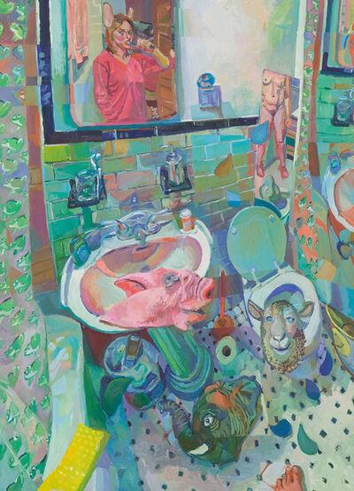 Jenny Toth, 'Bathroom Boogie', 2004