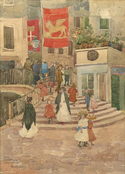 Maurice Brazil Prendergast, 'Ponte Gianbattista-Gallucioli', 1898-1899