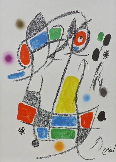 Joan Miró, 'Maravillas con Variaciones Acrósticas 1', 1975