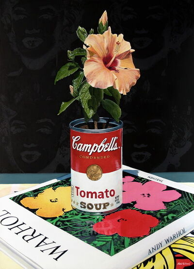 Alvin Richard, 'Hibiscus in a Campbell's Soup Can, an homage to Andy Warhol', 2019