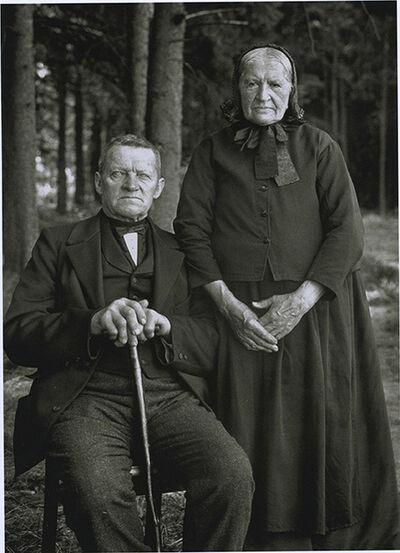 August Sander, 'Farmer and Wife', 1912
