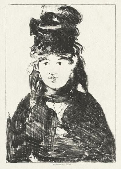 Édouard Manet, 'Berthe Morisot', 1872