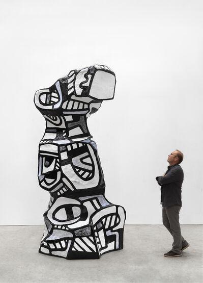 Jean Dubuffet, 'Chien de guet 1', 1969-2018