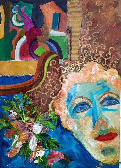 Dirce Fett, 'Blue woman', 2013/2020