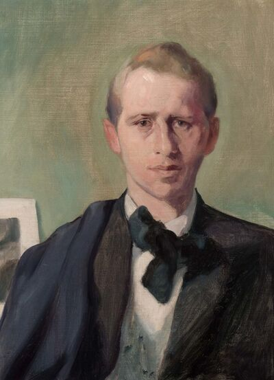 Thomas Hart Benton, 'Portrait of Thomas Craven', circa 1912