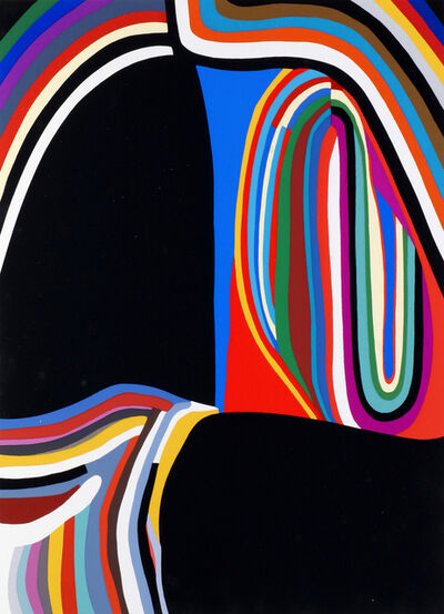 Alberto Burri, 'Trittico B - Travola 1-3 (three works)', 1973-1976