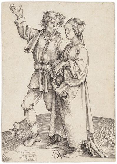 Albrecht Dürer, 'Rustic Couple', ca. 1497