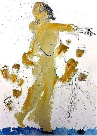 Salvador Dalí, 'Iesus super mare ambulans', 1964