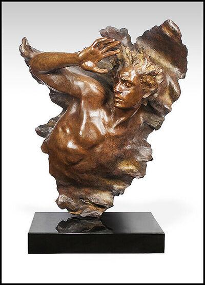 Frederick Hart, 'Frederick Hart Large Bronze Sculpture Ex Nihilo Male Full Round Signed Artwork', 2005