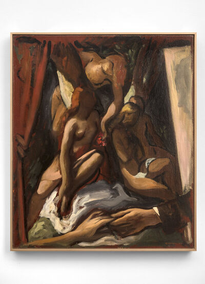 Lorser Feitelson, 'Memorabilia: Miss X', 1943