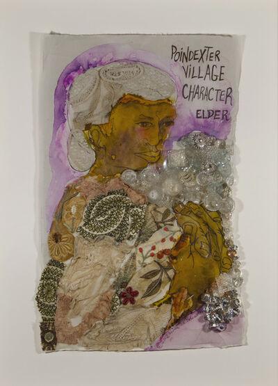 Aminah Brenda Lynn Robinson, 'Poindexter Village Character: Elder', 2012