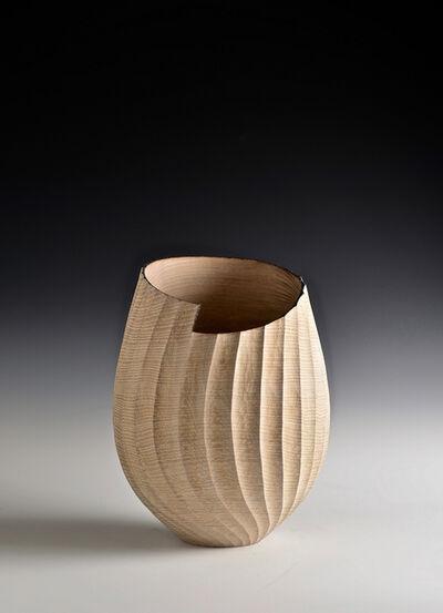 Liam Flynn, 'Oak Fluted Vessel', 2010