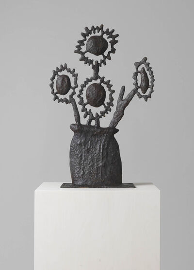 Donald Baechler, 'UNTITLED (FLOWER SCULPTURE FOUR)', 2017