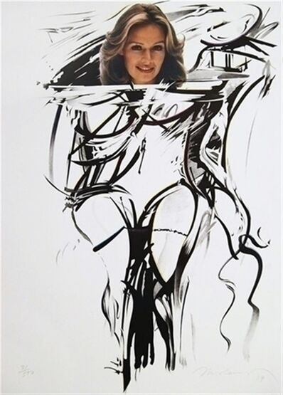 """Mel Ramos, 'Homage to Willem de Kooning: """"I still Get a Thrill When I See Bill""""', 1979"""