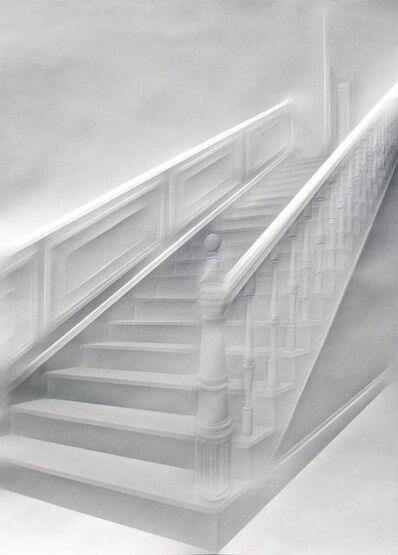 Simon Schubert, 'Untitled (Stairs), (Ohne Titel (Treppe))', 2019