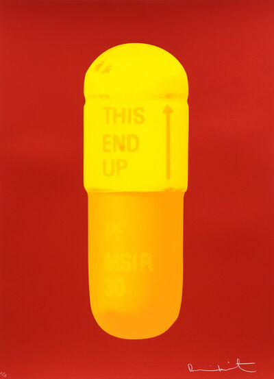 Damien Hirst, 'The Cure - Fire Red/Sun Yellow/Fire Orange.', 2014