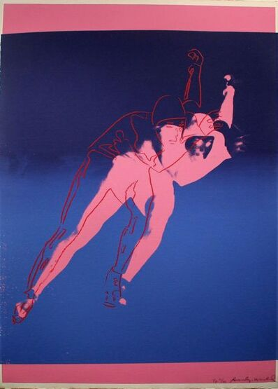 Andy Warhol, 'Speed Skater (F&S IIB.303) Unique Trial Proof', 1983