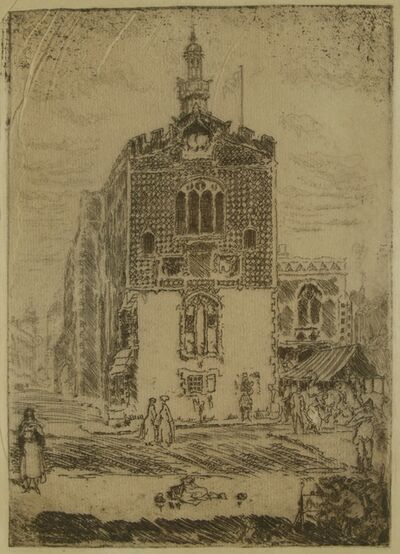 Clifford Isaac Addams, 'Venice, Balcony, Ducal Palace', ca. 1914