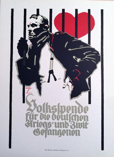 Ludwig Hohlwein, 'Prisoner of Love', ca. 1920