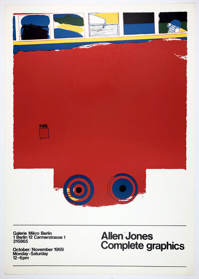 Allen Jones, 'Galerie Mikro 1969 (A Fleet of Buses, 1966)', 1969